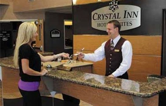 Hol hotelowy CRYSTAL INN HOTEL AND SUITES LOGAN