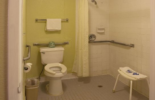 Cuarto de baño Plainfield Inn Southwest Houston