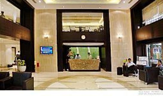 Reception GOLDFINCH HOTEL BANGALORE