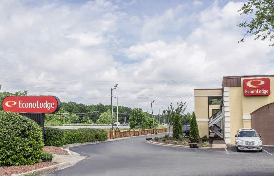 Außenansicht Econo Lodge Research Triangle Park