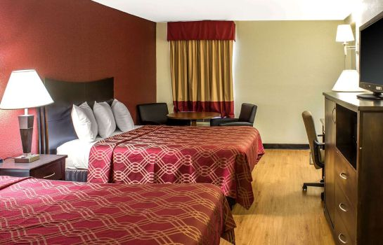 Doppelzimmer Komfort Econo Lodge Research Triangle Park
