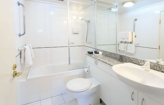 Bathroom The Paramount Serviced Apartments Melbourne