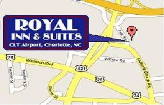 Info Royal Inn Charlotte Airport Hotel