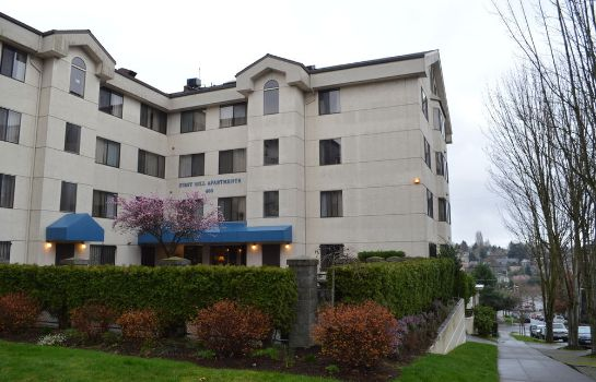 Vista exterior First Hill Apartments Extended Stay Seattle