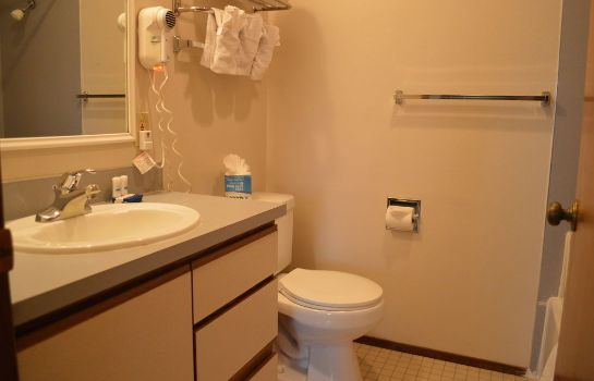 Cuarto de baño First Hill Apartments Extended Stay Seattle