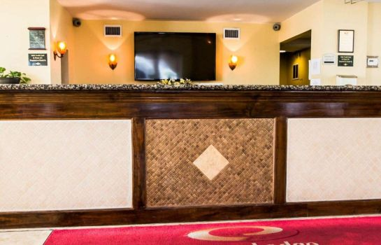 Hotelhalle Econo Lodge Inn & Suites Near Florida Mall