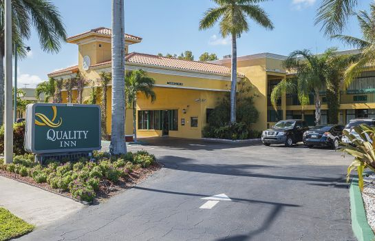 Exterior view Quality Inn Boca Raton University Area Quality Inn Boca Raton University Area