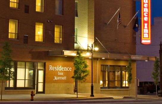 Exterior view Residence Inn Louisville Downtown