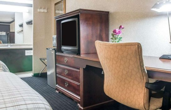 Chambre double (confort) Rodeway Inn Metro Airport