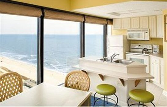 Cocina en la habitación Ascend Resort Collection Bluegreen Vacations Seaglass Tower