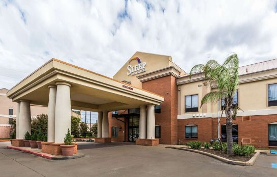 Buitenaanzicht Sleep Inn and Suites Stafford - Sugarlan