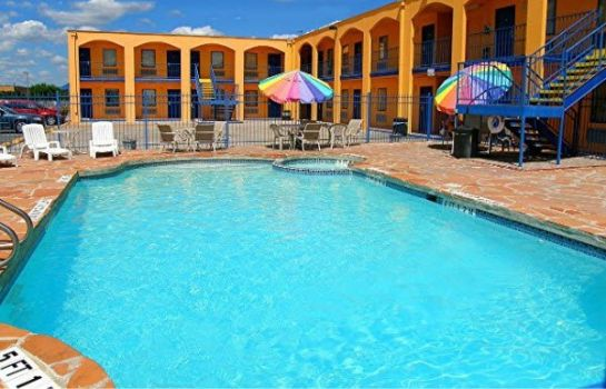 Hotelhalle CAREFREE INN LACKLAND AIRFORCE-SEAWORLD
