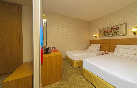 Chambre triple Almina Hotel Istanbul Special Class