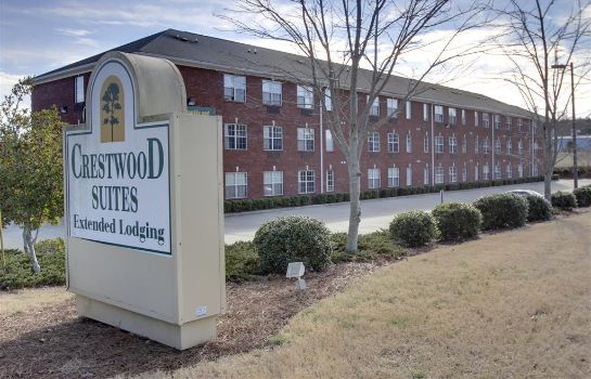 Exterior view Crestwood Suites - Greensboro-Airport