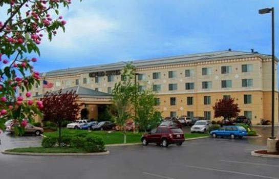 Buitenaanzicht Oxford Suites Spokane Valley