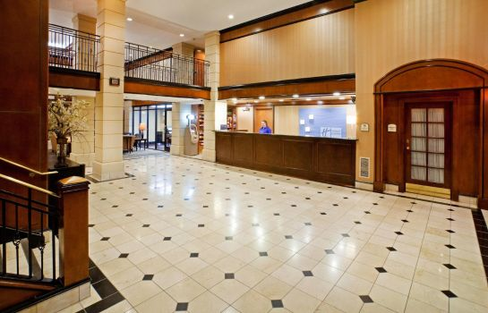 Hotelhalle Holiday Inn Express & Suites IRVING DFW AIRPORT NORTH