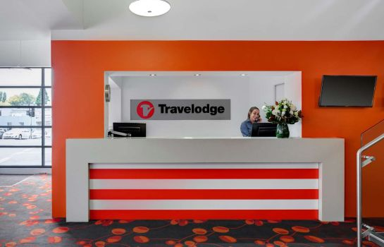 Vestíbulo del hotel Travelodge Hobart