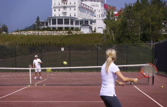 Campo de tennis Omni Mount Washington Resort