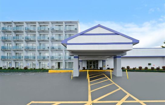 Buitenaanzicht Americas Best Value Inn & Suites-Benton Harbor