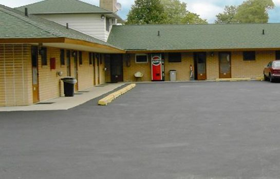 Außenansicht BRIKCRETE MOTEL WYOMING - GRAND RAPIDS