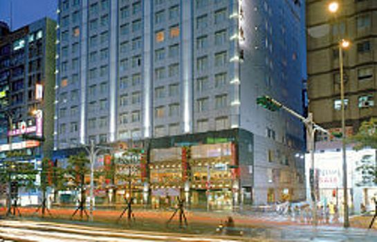 Exterior view San Want Hotel Taipei