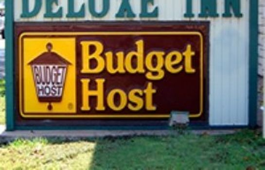 Exterior view BUDGET HOST DELUXE