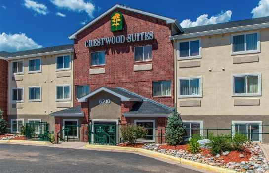 Exterior view Crestwood Suites Of Colorado Springs