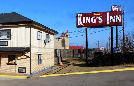 Buitenaanzicht King's Inn Motel