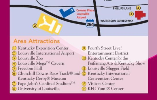 Info Crowne Plaza LOUISVILLE AIRPORT EXPO CTR