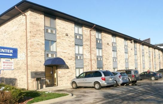 Vista exterior Motel 6 Bridgeview