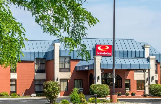 Vista esterna Econo Lodge Fort Wayne