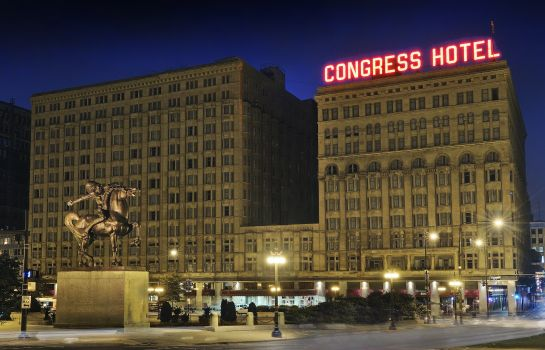 Exterior view Congress Plaza Hotel