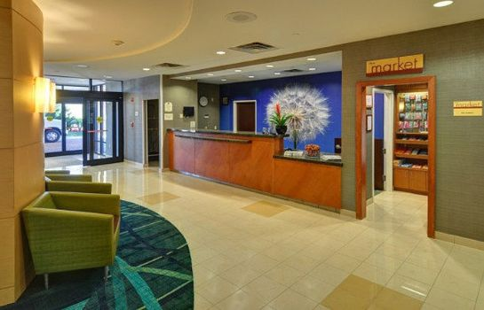 Lobby SpringHill Suites Dallas DFW Airport East/Las Colinas Irving
