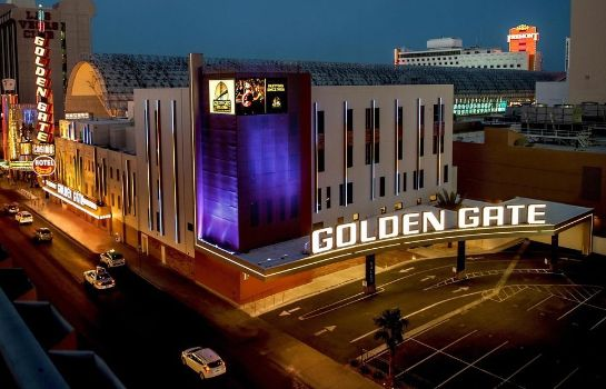 Buitenaanzicht Golden Gate Hotel and Casino