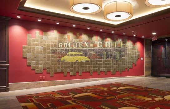 Vista all'interno Golden Gate Hotel and Casino