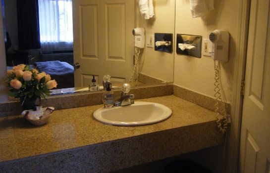 Bagno in camera Knights Inn Carmel Hill