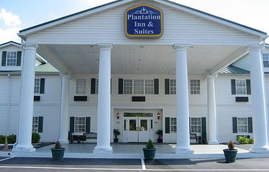 Vista exterior PLANTATION INN AND SUITES JACKSON