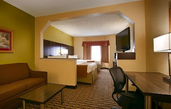 Zimmer BEST WESTERN KNOXVILLE SUITES DOWNTOWN