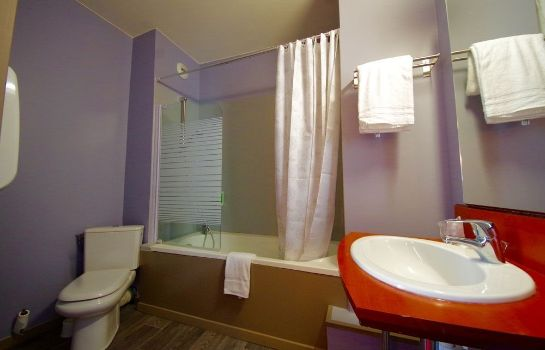 Bagno in camera Best Western Hotel Saint Claude