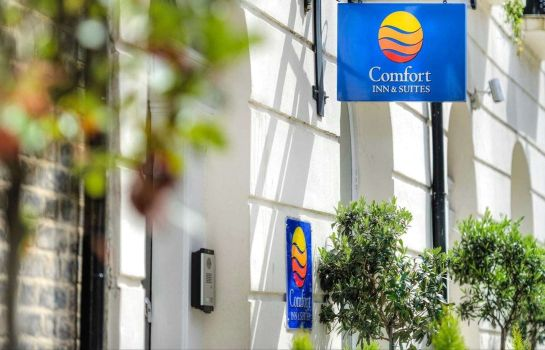 Buitenaanzicht Comfort Inn & Suites Kings Cross St. Pancras