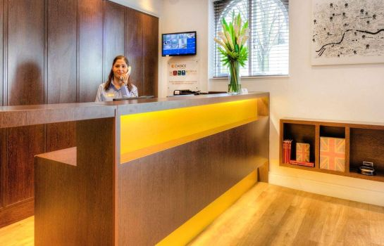 Hotelhal Comfort Inn & Suites Kings Cross St. Pancras