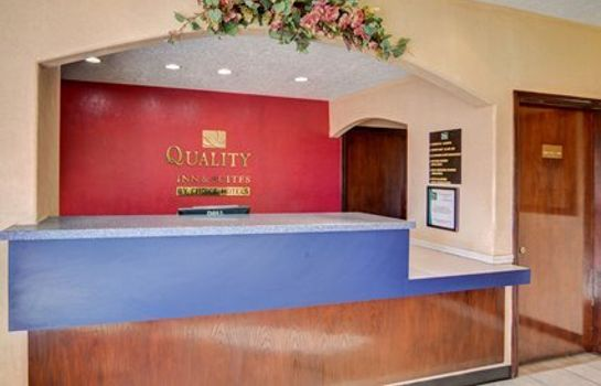 Hotelhalle Quality Inn & Suites Canton