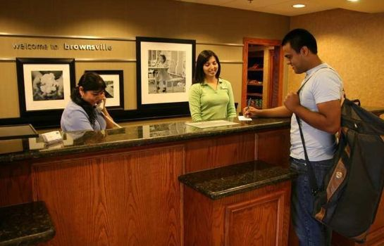 Hotelhalle Hampton Inn and Suites-Brownsville