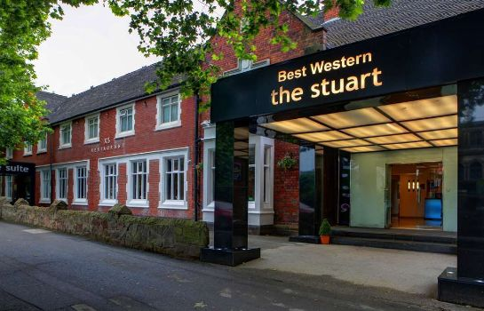 Exterior view Best Western The Stuart Hotel-Derby