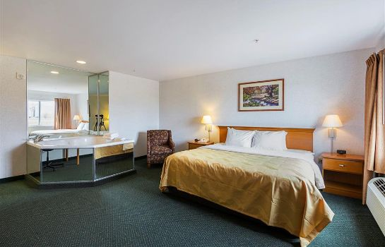 Chambre Quality Inn and Suites Belmont Route 151