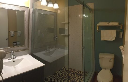 Cuarto de baño Travelodge Oceanside