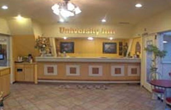 Lobby UNIVERSITY INN AND SUITES