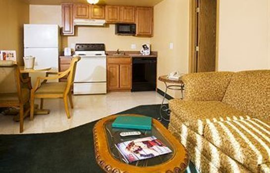 Kitchen in room Emerald Suites South - Las Vegas Boulevard