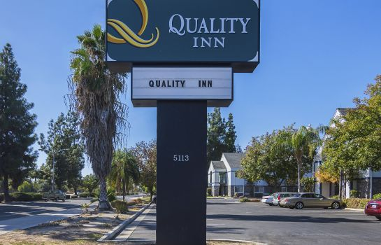 Exterior view Quality Inn Fresno Yosemite Airport