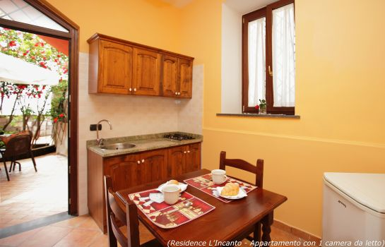 Kitchen in room Residence L'Incanto Sorrento